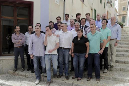 Reunión de alcaldes en Felanitx tras las elecciones del 24 de mayo.