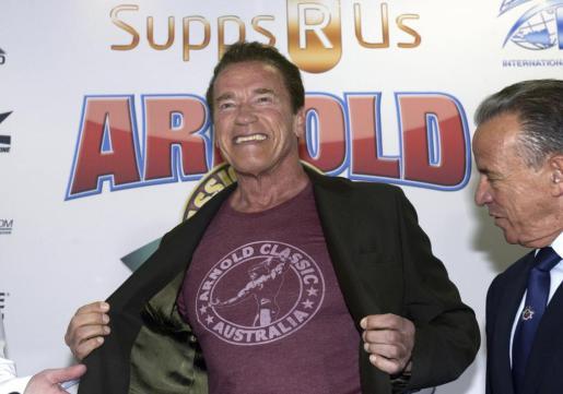 El actor estadounidense y gobernador de California, Arnold Schwarzenegger, en una imagen de archivo.