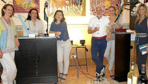 Lena Bauzá, Carmen Lanas, Ana del Río, Felipe Andrés Ruiz (Rui), Jero Mulet y Cristina Mas.