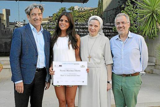 Gaspar Caballero, Naomi Martínez, María Canel y Andreu Ramis.