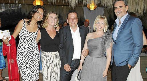 Laila de la Torre, María José Hidalgo, Pedro Horrach, Ana Zacher y Alberto Tomás.
