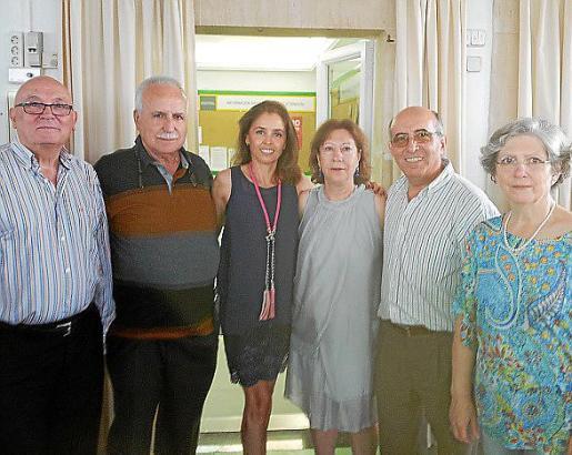Antonio Contestí, Juan I. Vidal, Sonia Barranco, Mª Ángeles del Amo, Antonio García y Rosa Arregui.