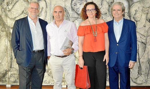 Rafael del Rey, Joan Bennàssar, Sandra Martínez y José María Mohedano.