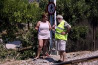 Espectacular accidente del tranvía de Sóller