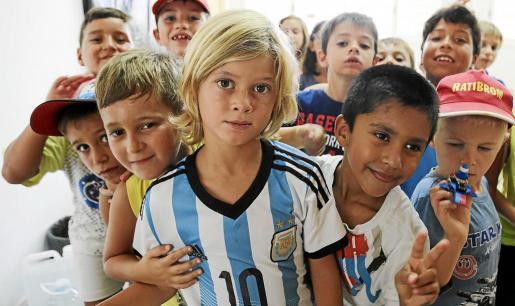 Escuela de verano del colegio Cervantes, en Sant Antoni.