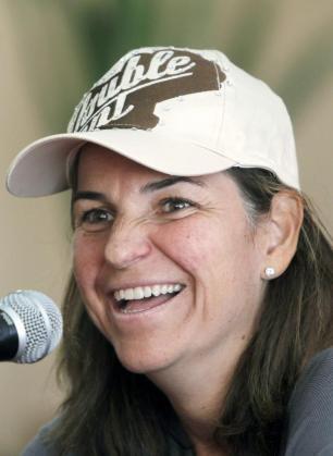 La extenista Arantxa Sánchez Vicario.