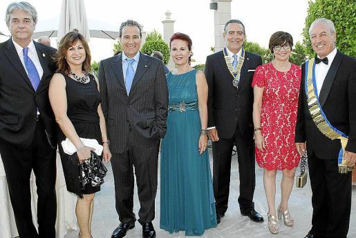 Antonio Cañellas, Rosa Ruesga, Joan Salas, Marga Noguera, Joan Sastre, Concha Jarnés y Joan Torrens.