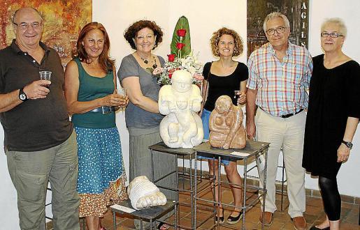Jaume Vich, Marga Forteza Villar, Francisca Llabrés, Auba Pont, Jaime Pastor y Margalida Martorell.