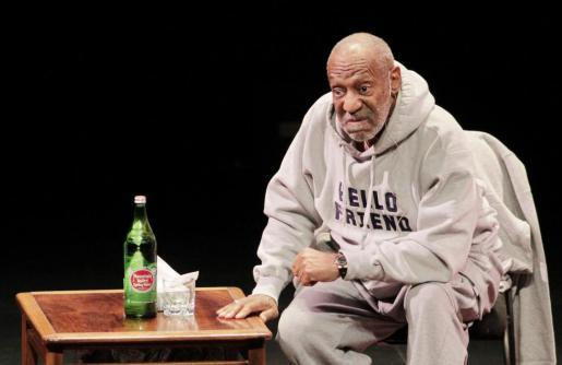 El actor Bill Cosby, durante un obra de teatro en la televisión NBC.