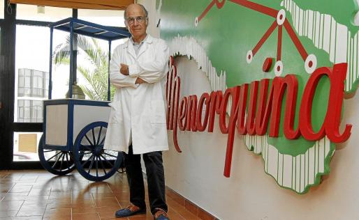 Juan Sintes Carreras, hijo del fundador y director industrial en Grupo Kalise Menorquina.