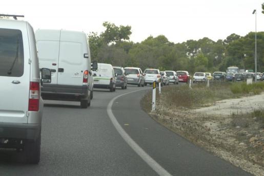 El accidente ha ocurrido en la carretera que une Llucmajor y Campos.