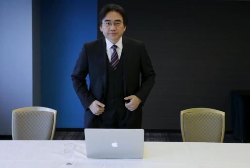 Satoru Iwata, en una imagen de archivo.