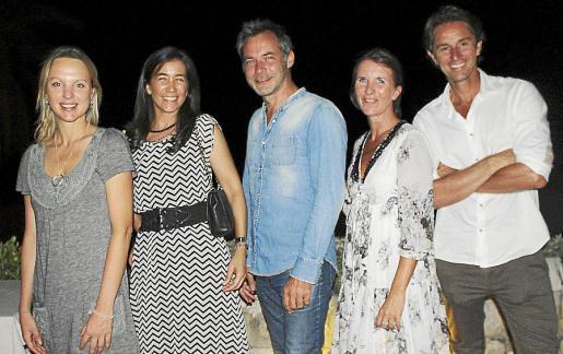 Tina Strobach, Mariana Chacón, Pierre Baros, Wendy Brown y Arnaud Jills.
