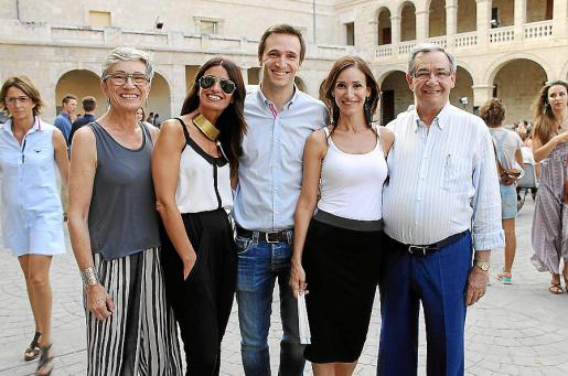 Esperança Fiol, Irene Vidal, Toni Vidal, Pepa Vidal y Toni Vidal.