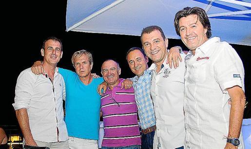 Miguel Garau, Juan Andrés Morcillo, Gori Balaguer, Jaime Lamas, Juan Alberto Segura y Sebastià Català.