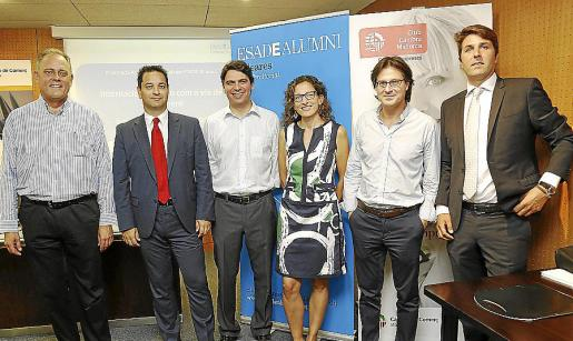 Johan Lallersted, Jorge Gómez, Antoni Solans, Celina Servera, Fredi Mudoy y Guillermo Mir.