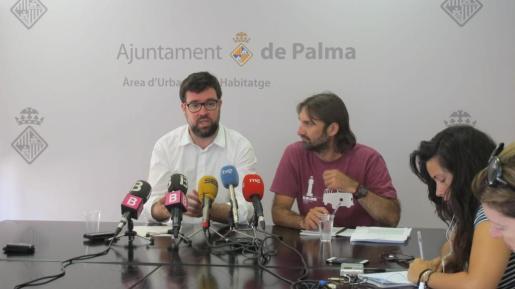 Antoni Noguera, en una imagen de archivo durante una rueda de prensa.