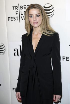 La actriz estadounidense Amber Heard.