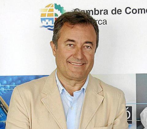 Joan Gual de Torrella, en su etapa de presidente de la Cámara.