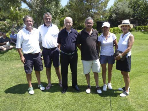 Noel Scully, Bartomeu Simonet, Rafael Ferragut, Luca Riquelme, Maribel Galmés y Cruz Vaquero.