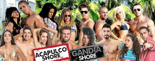 Cartel promocional de 'Gandia Shore'.