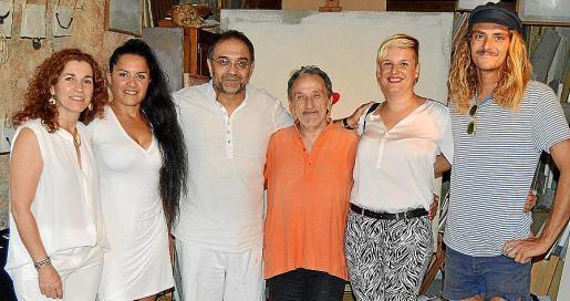 Vicky Vidal, Aitziber Esteran, Miquel Segura, Diego Nebot, Marta Murgades y Toni Salom.