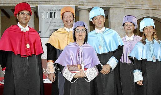 Javier Pozo, Antonio Alcover, María Antonia Manasero, Antonio Bruyel, Juan José Montaño y Patricia Peñas.
