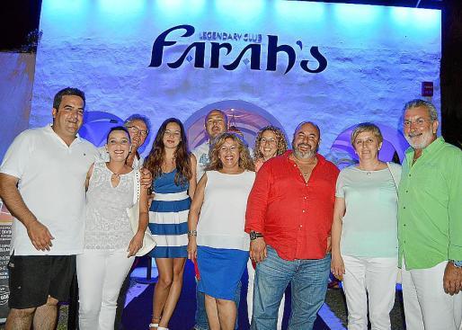 Pepo Timoner, Sofía Rodríguez, Juan Estrada, Claudia Pérez, Eduardo Pérez, Isabel Pantoja, Bàrbara Xamena, Juan Ramón Pérez, Maria Rosselló y Damià Rigo.