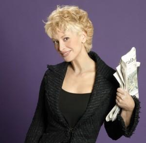 La periodista Teresa Viejo.