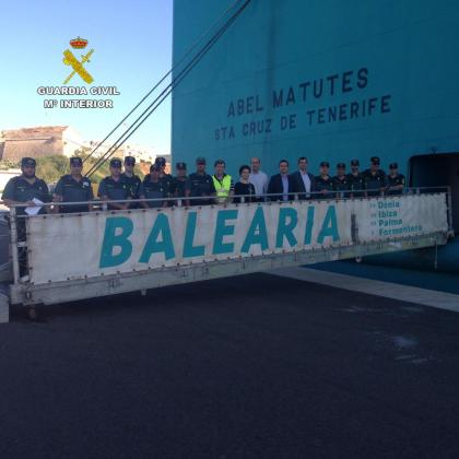 La jornada, celebrada en Palma, contó con una parte teórica y otra práctica a bordo de un buque de Baleària.