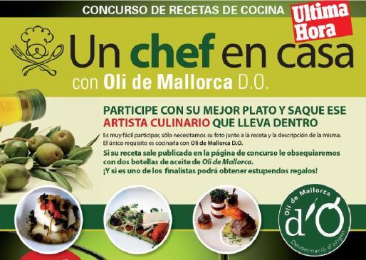 El concurso 'Un chef en casa' propone que saques el artista culinario que llevas dentro.