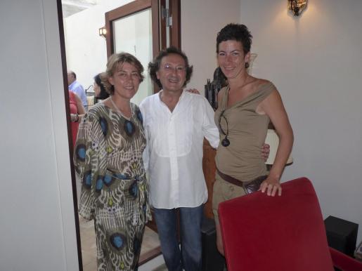 Paula Téllez, Jaime Llabrés y Catrín Colomar.