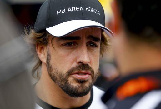 Fernando Alonso durante el pasado Gran Premio de Australia de Fórmula 1.