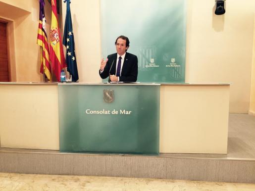 Marc Pons es el portavoz del Govern balear.