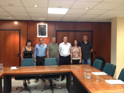 Instantánea con varios representantes del FSIE.