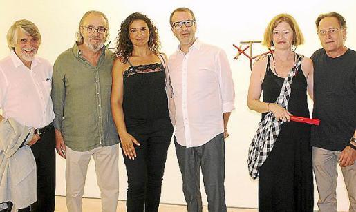 Tono Vila, Ramón Canet, Carolina Amigó, Joan Cortés, Sara Lovett y Rafa Forteza.