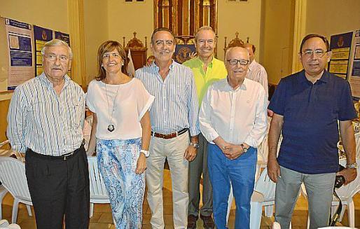 Fernando Mulet, Gero Balaguer, Joan Sastre, Jesús Martínez, Sebastià Cañellas y Gabriel Riera.
