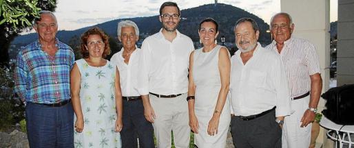 Luis Piña, María de los Ángeles Fernández, Blai Vidal, José Hila, Magdalena Ordinas, Vicenç Rotger y Ramón Piña.