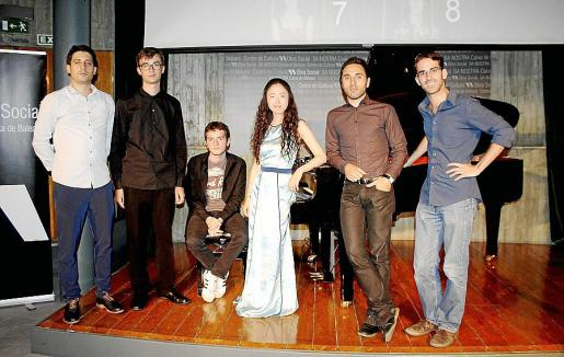 El director artístico Óscar Caravaca, José Alberto Sancho, Erdion Hoxha, Xi Xi, Hugo Sellés y Jesús Herrera.