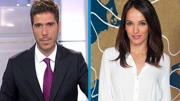 Pablo Pino y Rebeca Haro los sustitutos de Sara Carbonero en los informativos de Telecinco.