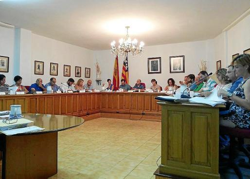 Imagen del pleno municipal del Ajuntament de Marratxí.