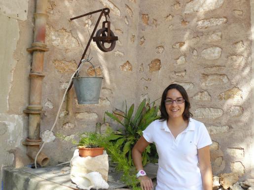 Maria Monserrat, regidora de Festes de Cala Figuera (Santanyí)