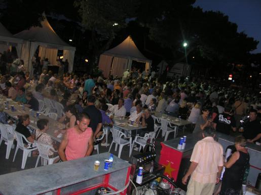 Mostra de Cuina Nocturna de Porto Cristo.