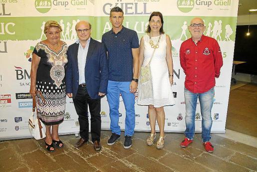 Catalina Rosselló, Joan Vivern, Pep Lluís Martí, Margalida Payeras y Joan Campos.