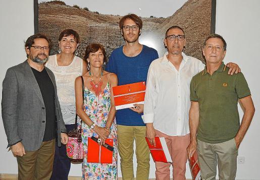 Juanjo Oliva, Aina Aguiló, Francisca Lladó, Xim Llompart, Andreu Aguiló y Jesús Bondía.