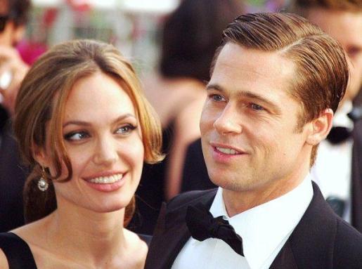 Imagen de archivo de Angelina Jolie y Brad Pitt.