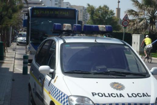 Imagen de archivo de un autobús de la EMT en la zona donde sucedió la agresión.