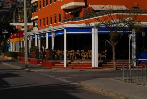 Imagen del pub de Santa Ponça donde se produjo la agresión.