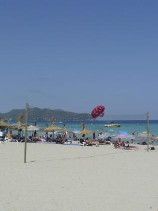 Sant Llorenç ha incorporado algunas novedades a sus playas.