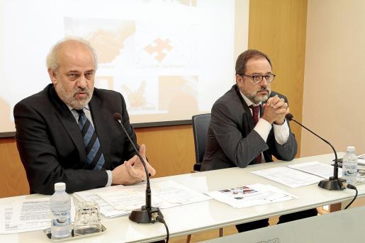 Albert Moragues y Fernando Monar presentaron ayer la iniciativa.